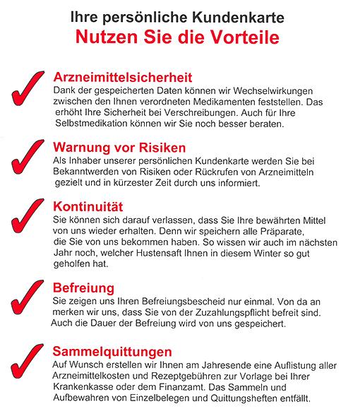 Kundenkarte | Hölderlin-Apotheke Mundelsheim in 74395 Mundelsheim